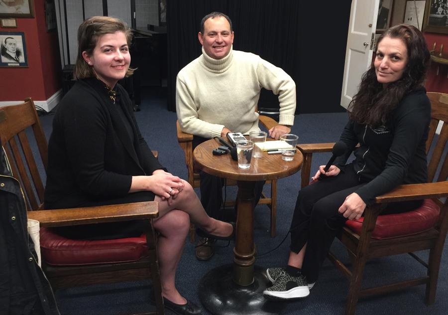 Lindsey, Kevin, and Joanna